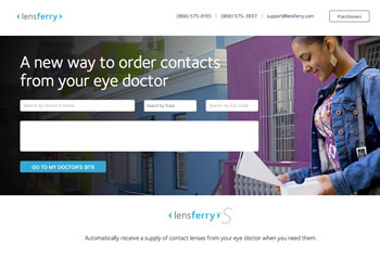 lensferry s expands to include all contact lens modalities